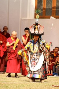 chokling lama dance 2014