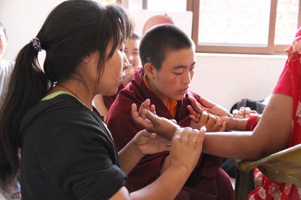 Tibetan medicine students