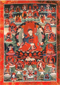 Guru Rinpoche from the terma treasure of Terchen Chokgyur Lingpa.
