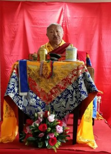 During the Great Perfection, Heart Essence Of Samantabhadra retreat
