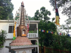 Stupa built by Kyabje Tulku Urgyen Rinpoche at the Ipoh Cave Temple_ Site of the 2014 International Vajrasattva retreat