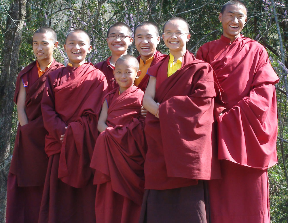 CPG monks at picnic_small